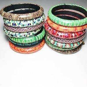 MYSTERY bangle bracelet boho festival